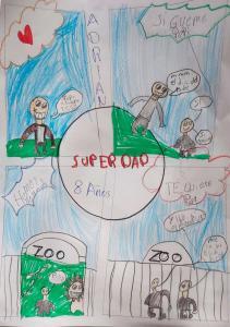 10, Adrián (8 años)